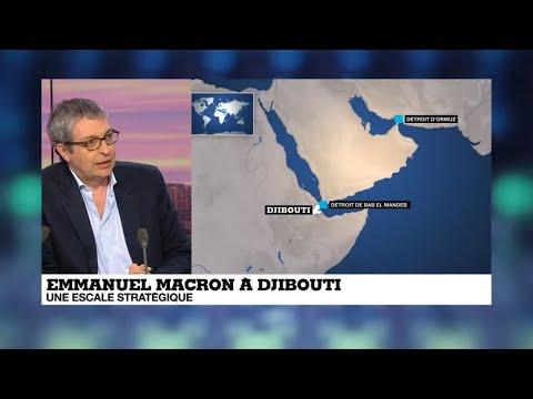 """Emmanuel Macron à Djibouti : """"Une volonté de prendre pied dans une région en pleine évolution"""""""