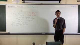 Recurrence Relation Example: Integrating (sin x)^n