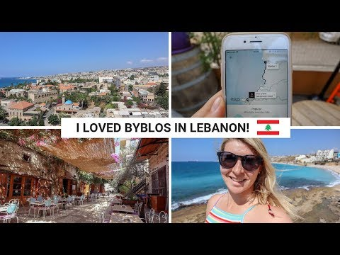 DAY TRIP FROM BEIRUT TO BYBLOS VIA UBER! | Lebanon Vlog