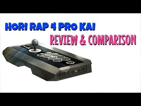 Shoryuken Review: HORI RAP4 Kai (Colored Version) Fight ...