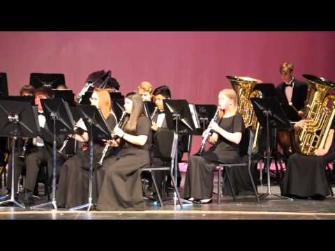 """GHS Pre-UIL Concert 2016 - Honors Band """"Voices of the Sky"""""""