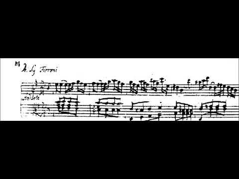 Giovanni Fioroni (1704-1779): Andante (from ms. Wien, Gesellschaft der Musikfreunde)