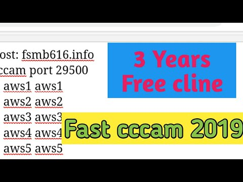 3 years free cccam server 2019-2022 fast cccam free cline for 3 years