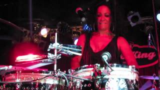 Sheila E. On Timbales, BB King Blues Club, NYC 8-29-12
