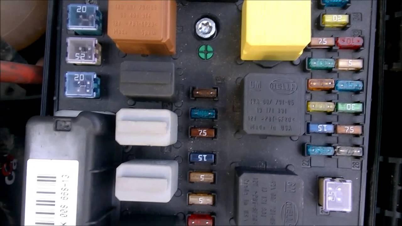 Led Symbol Wiring Diagram Opel Astra Sigorta Kutusu Fuse Box Youtube