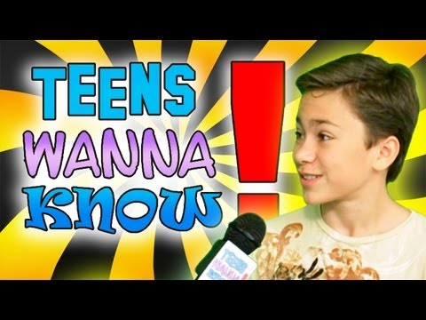 Teens Wanna Know  Christian Traeumer  Video