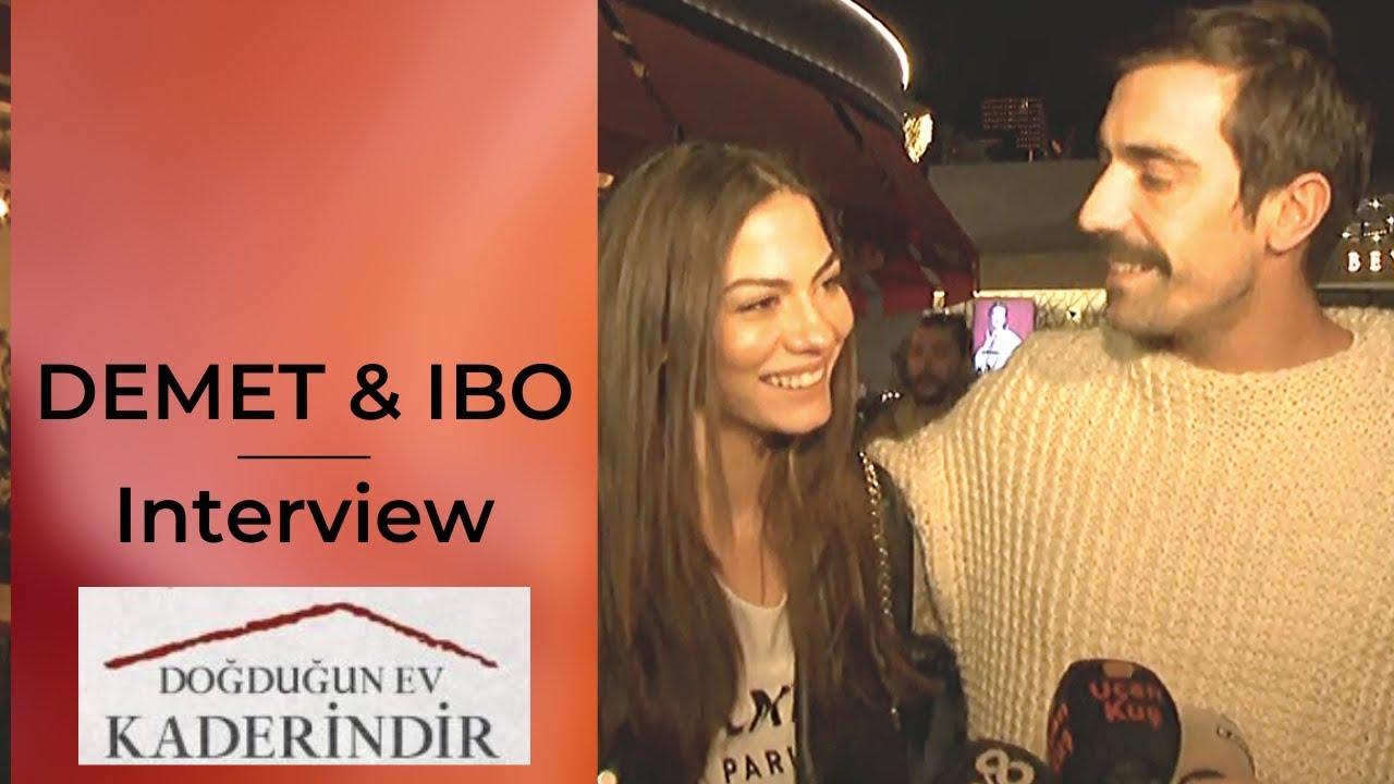 Ibrahim Celikkol & Demet Ozdemir ❖ Interview ❖ After Ep 1 Watch Party ❖ Dec 27th 2019