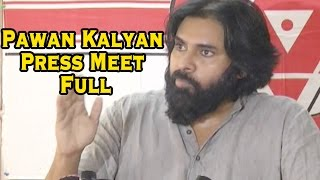 Pawan Kalyan Press Meet - Vote For Note Scam - Phone Tapping