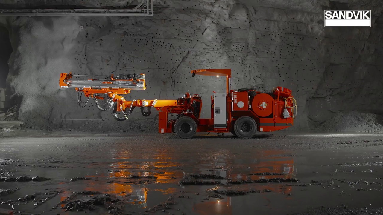 Sandvik DD210 - Development drill rig | Sandvik Mining and Rock Technology