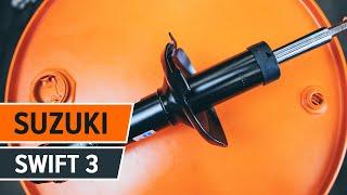Πώς αλλαζω Αμορτισέρ SUZUKI SWIFT III (MZ, EZ) - δωρεάν διαδικτυακό βίντεο