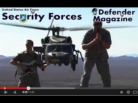 USAF Rock Band Max Impact Music Video Locked And Loaded