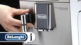 How to set the beep on your De'Longhi PrimaDonna XS ETAM 36.365 coffee machine