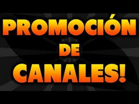 Promoción de canales #4
