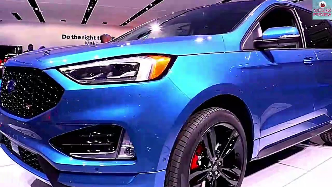 All New  Ford Edge St Mods Exterior Interior