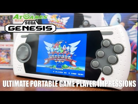 AtGames Sega Genesis Ultimate Portable Game Player Impressions