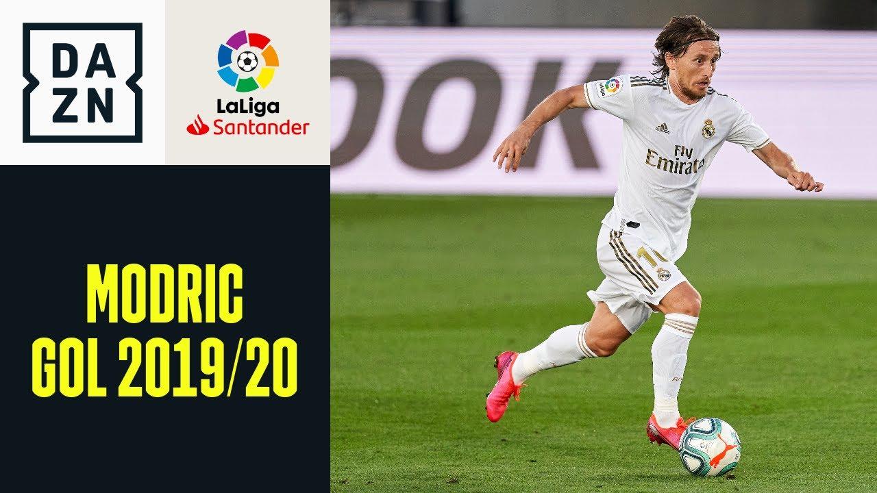 LaLiga 2019/20: i gol di Modric con il Real Madrid