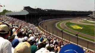 Takuma Sato crashes on final lap! Indy 500 2012
