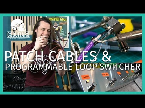 Patch Cables & Programmable Loop Switcher