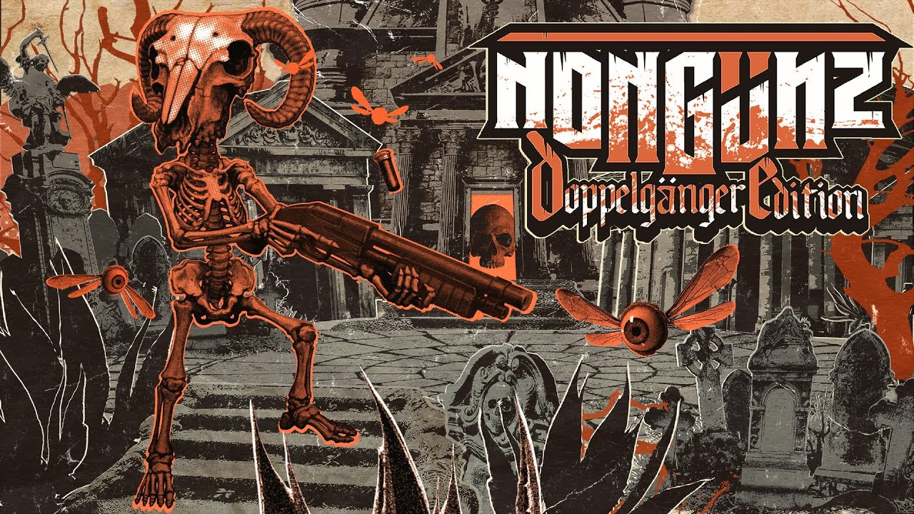 Download Nongunz: Doppelganger Edition | Release Trailer | PC, PS4, Xb1, Switch