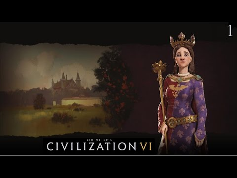 Civilization VI - Let's Play as Poland #1 (Deity)