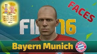 FIFA 16 Bayern Munich Player Faces (PS4/XBOX ONE/PC)