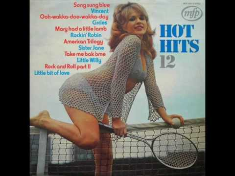 Chris White - Spanish Wine ( + Hot Hits album sleeves )