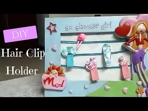 ♥DIY Hair Accessories Organizer – Hair Clips Holder! ♥ Tutorial | DIY | Splendid DIY