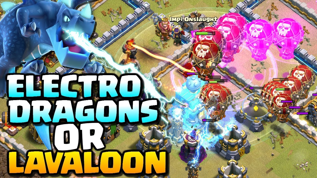 LAVALOON or ELECTRO DRAGONS - Which is Best? | TH12 Attack Strategy | Clash of Clans