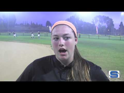 Student Sports Softball Spotlight: Alyssa VanDerveer