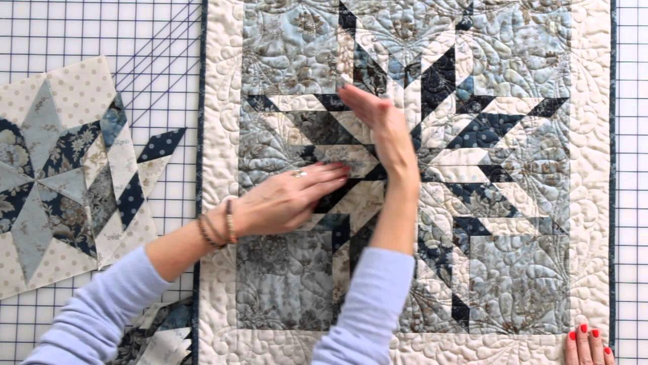 How To Sew An Intermediate Eight Point Star Quilt Block By