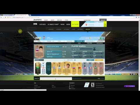 How to buy FIFA 16 Coins on fifacoin.com - Player Auction
