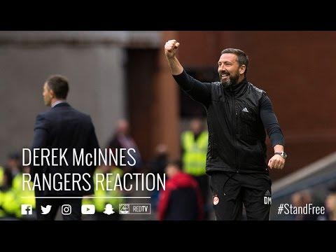Rangers 1-2 Aberdeen | Derek McInnes reaction