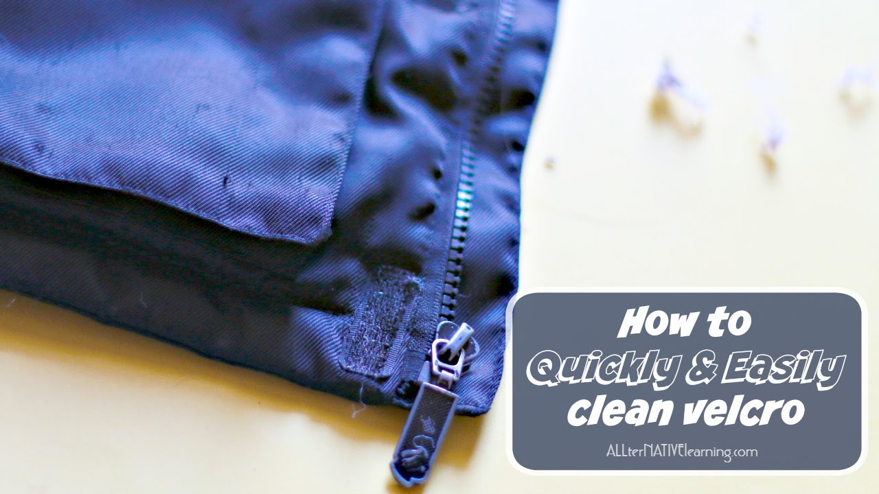 How to Clean Velcro Quickly and Easily