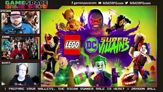 GS2  E25 - DC and Marvel Games Show! | GameSpace Game Show