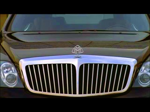 Maybach S 62. Design and driving scenes.