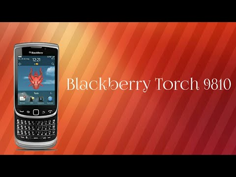 Blackberry Torch 9810 Review And Unboxing.