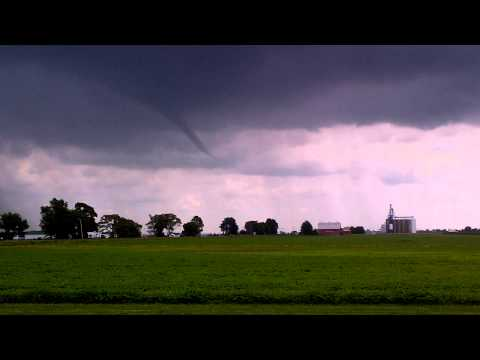 July 6 2013 - Funnel Cloud in Chatham Kent Ontario