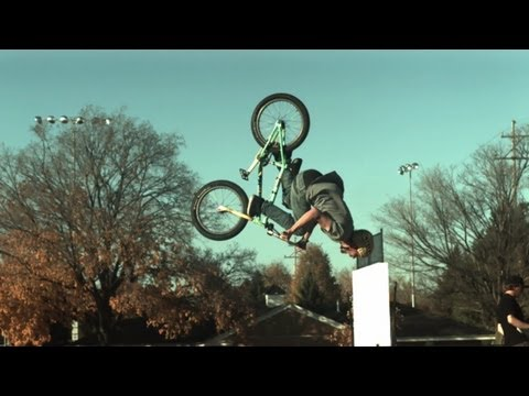 Allen Adams slow mo BMX pt 2 (600fps)