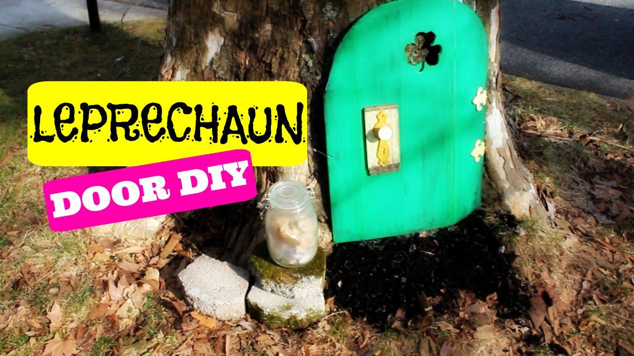 Leprechaun Door DIY with Gold Nuggets & Leprechaun Door DIY with Gold Nuggets - YouTube pezcame.com
