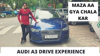 Driving AUDI for the first time | AUDI A3 Drive Experience | AUDI A3 | Lifetime Experience