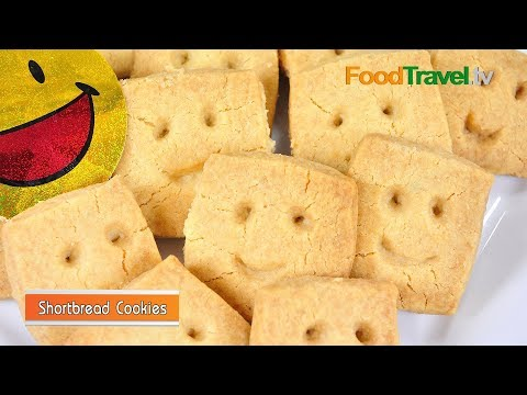 คุกกี้หน้ายิ้ม Shortbread Cookies Shortbread Cookies
