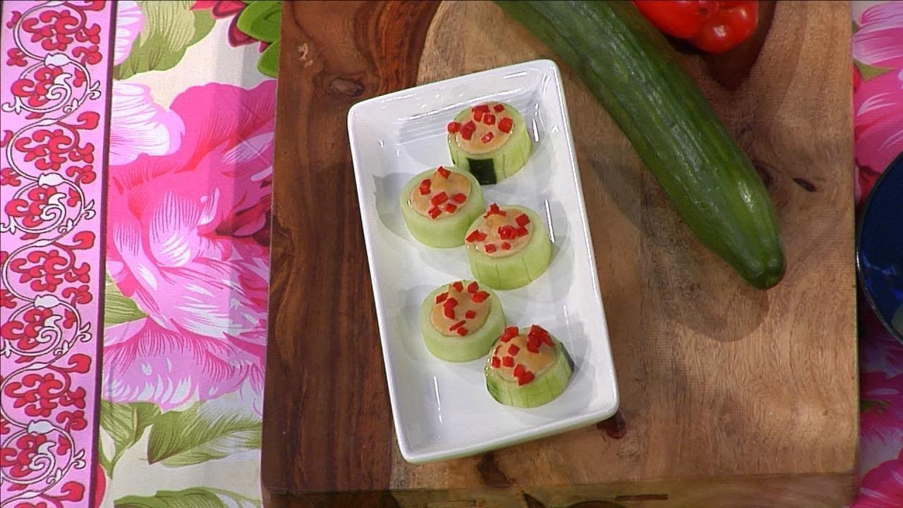 Maria Menounos Shares Her Healthy Recipe for 'Cucumber Pockets'