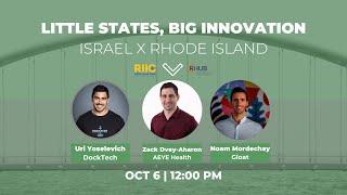 Little States, Big Innovation | District Hall Providence RI