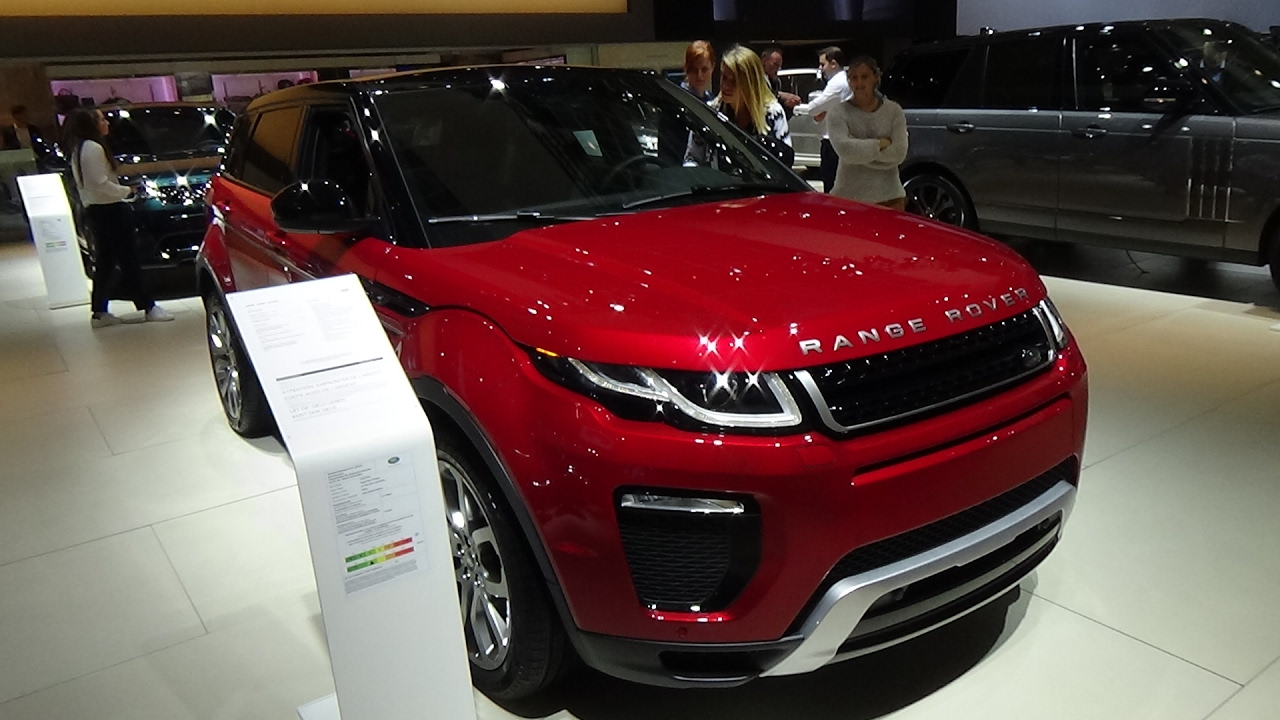 2017 Range Rover Evoque Dynamic Exterior And Interior Auto Show Brussels