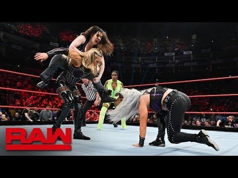 Natalya vs. Naomi vs. Nikki Cross vs. Dana Brooke: Raw, May 13, 2019