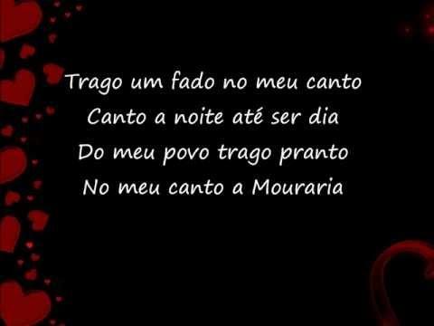 Meu Fado Meu - Mariza- com letras (lyrics)