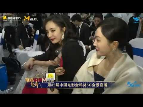 Phỏng vấn tại chỗ Dương Mịch tại LHP Kim Kê
