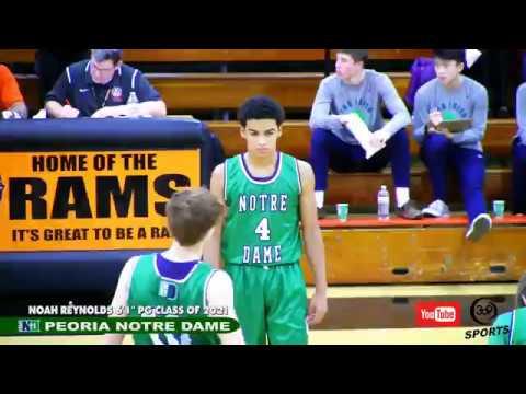 "[ 309 Sports ] Peoria Notre Dame 6'1"" PG Noah Reynolds (2021)"