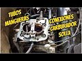 Conexiones Carburador Solex ,mangueras,tubos,caños Etc