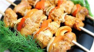 Шашлык из курицы в духовке Объедение